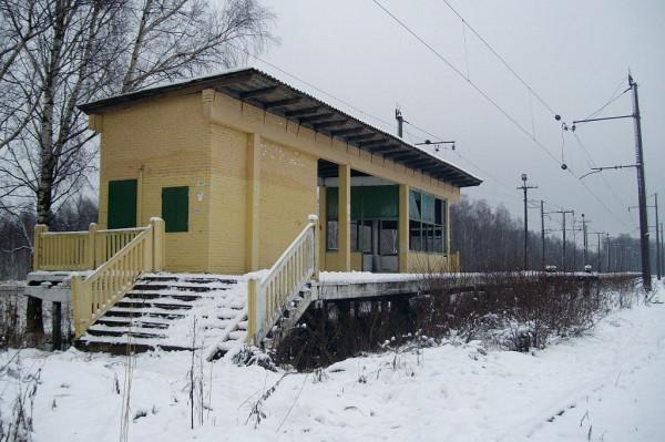 """ЖД станция """"Невдубстрой"""""""