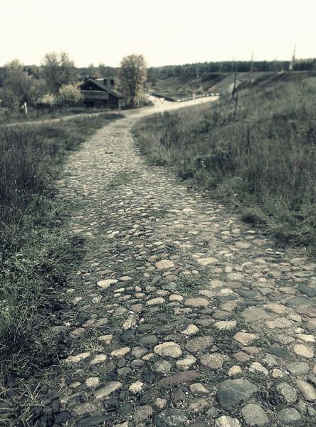 """Старая дорога к станции \\\\\\\\""""Лыкошино\\\\\\\\"""""""