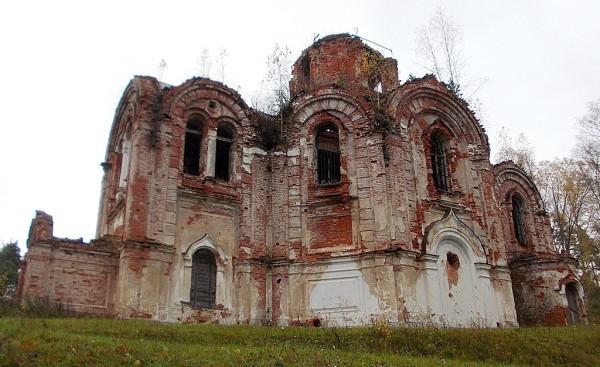 Иверская церковь в Лыкошине