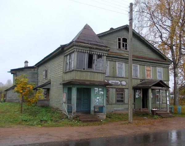 Октябрьская улица в Березайке