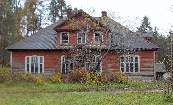Главный дом усадьба Панаева