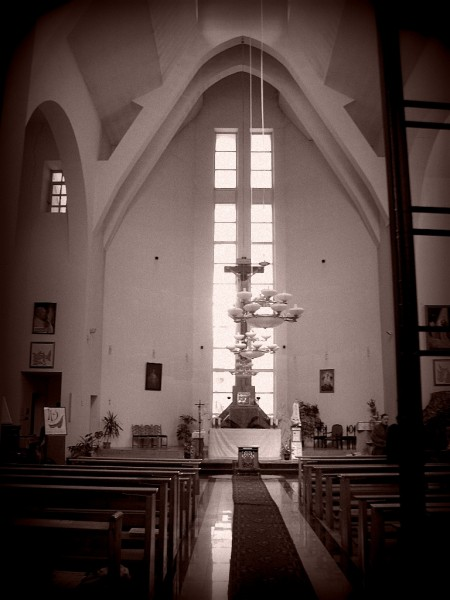Интерьер Католической церкви