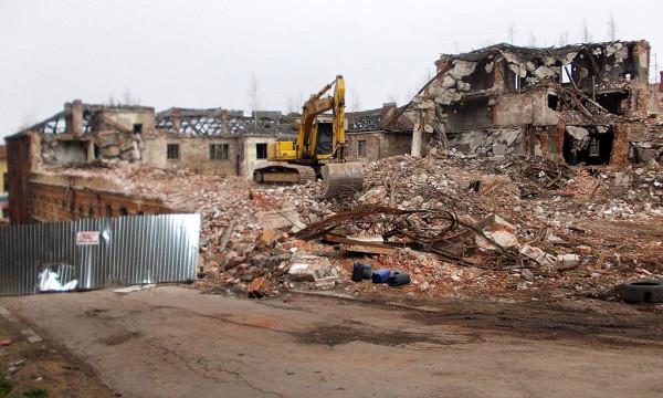 Разрушенный квартал