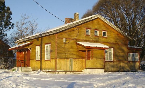 Вокзал станции Каарлахти