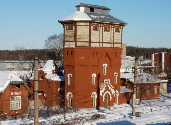 Водонапорная башня станции ПОДМОСКОВНАЯ