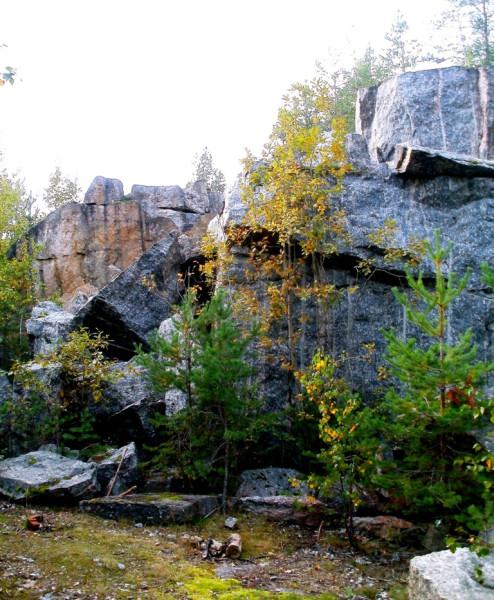 Бывшая каменоломня