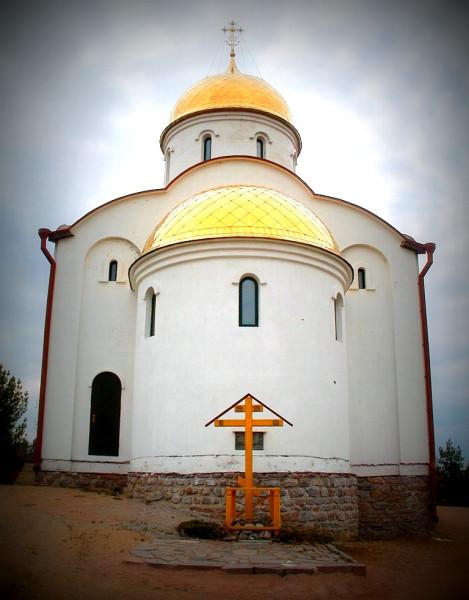 Алтарная часть Георгиевской церкви