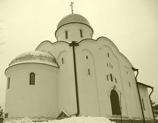 Егорьевский храм зимой