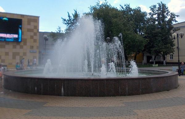 Люберецкий фонтан