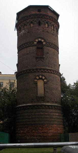 Водонапорка товарной станции МОСКВА-Саратовская