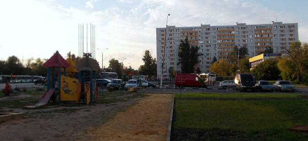 Перекрёсток Касимовской и Донбасской