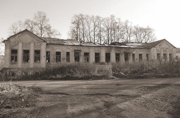 Корпус районной больницы