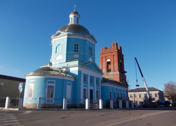 Вознесенская церковь в Затинной слободе