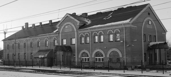 Окуловский вокзал
