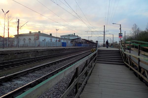 Платформы станции //Царское Село//