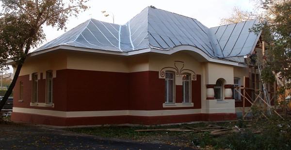 Здание станции