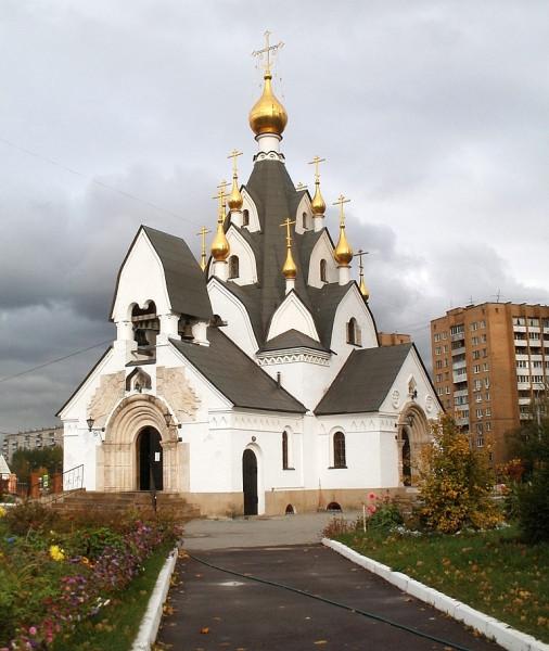Скорбященская церковь в Печатниках