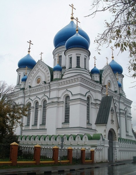 Собор во имя Иверской иконы Божией матери Николо-Перервинского монастыря