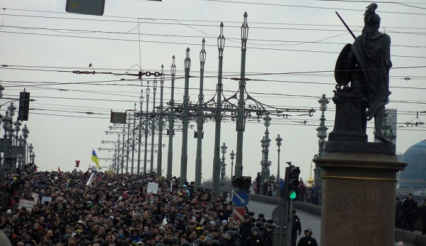 На Троицком мосту