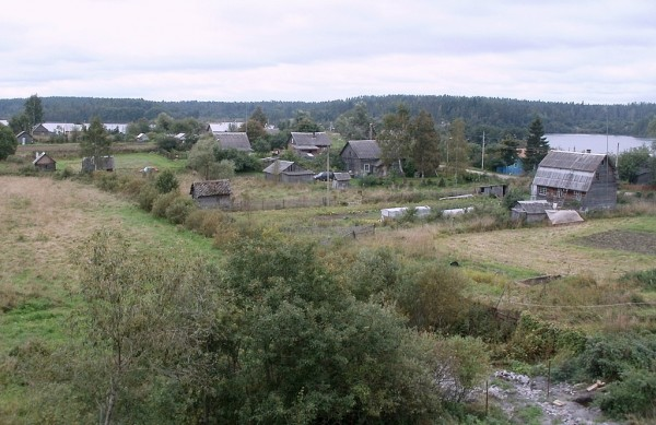 Вид на посёлок Богатыри
