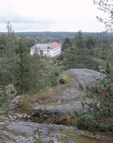 Хууханмякская скала (Huuhanmäen kallio)