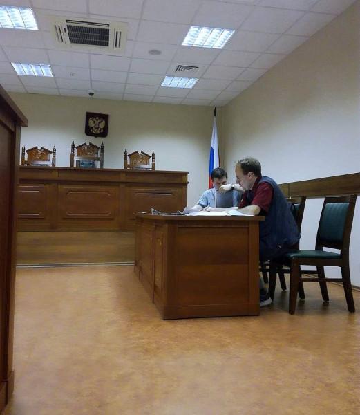 На заседании в СПб горсуде 03.07.2017 г.