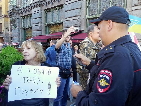 СПб., Малая Садовая улица, 08.08.2017 г.