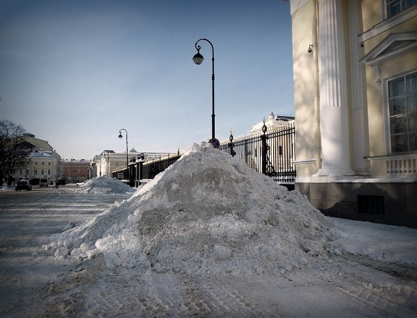Площадь Искусств, февраль 2018 г.
