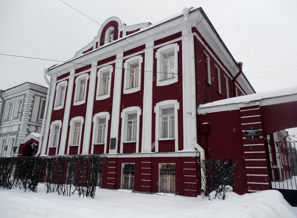 Щедрин Аполлон Федосеевич, 1840-2 гг. Университетская набережная, 9