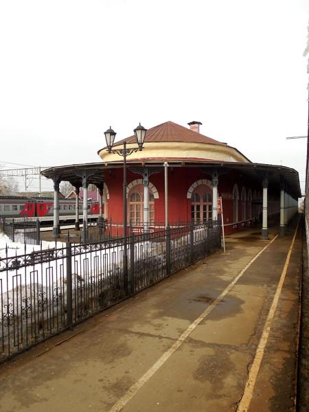 Станция I класса Главного хода Николаевской железной дороги. Февраль 2015 г.