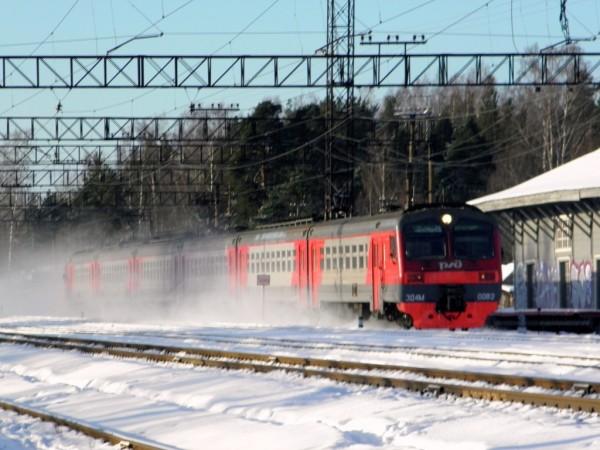 Из Каарлахти (Кузнечного) на Петербург. Февраль 2018 г.