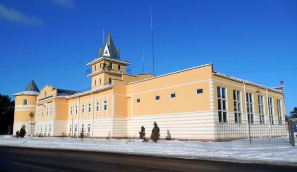 Здание открыто в 2013 г. Александровская (Красноармейская), 41. Февраль 2018 г.