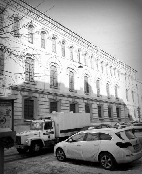 СПб., Захарьевская улица, дом 4. Март 2018 г.