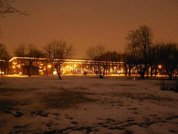 Вид из Парка Победы