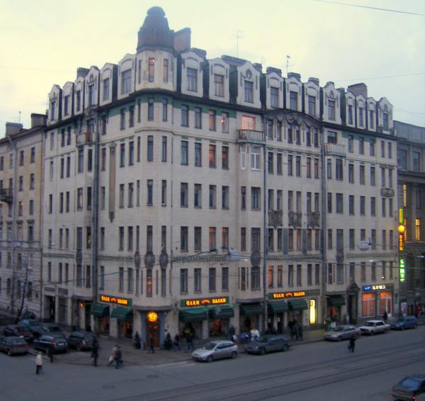 Средний проспект, 45/10-я линия, 27. Барановский Александр Фёдорович, 1910-1 г.