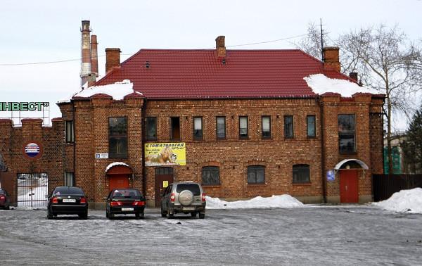 Впоследствии -- Приозёрский ЦБК. ЛО, Кексгольм (Приозёрск), Вальдгофская (Заводская), 3