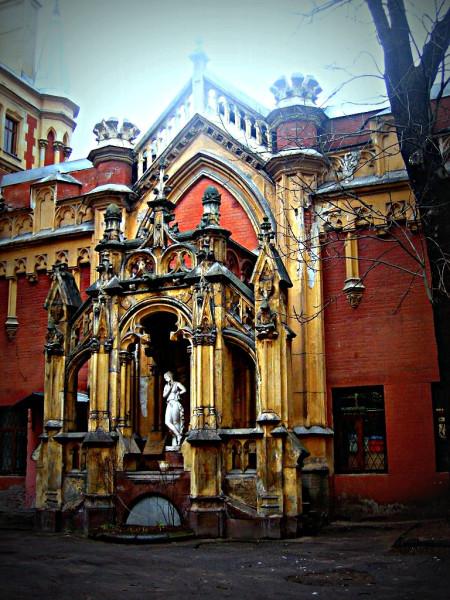 Шмидт Карл Карлович, 1903 г. Сергиевская (Чайковского) улица, 28. Апрель 2007 г.