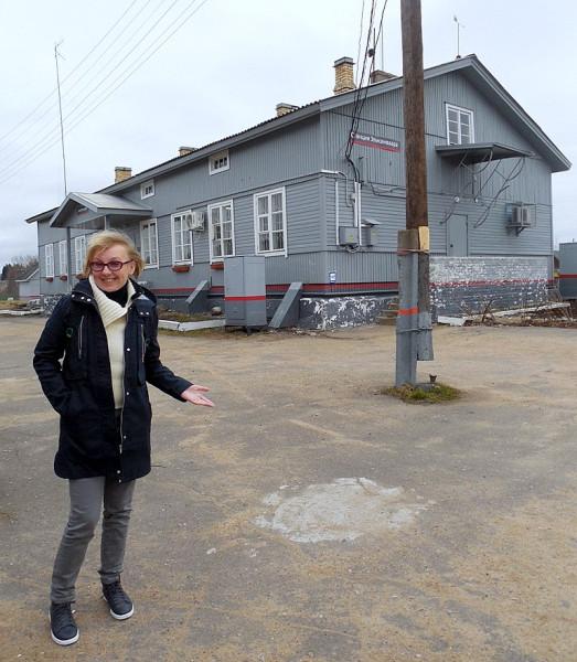"""Станция """"Элисенваара"""" (Elisenvaara). 1 мая 2018 г."""