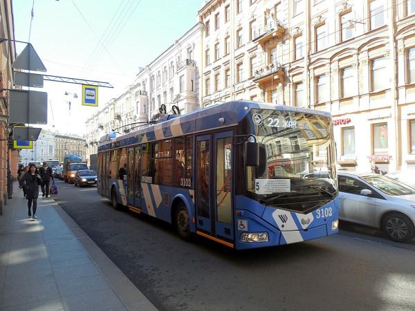 Или электробус, если так больше нравится. Май 2018 г.