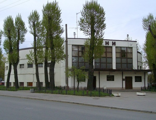 "Они же -- ""Шайба"". 1927-30 гг. Малая Спасская (Карбышева), 29А."