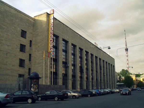 Аптекарский остров, улица Чапыгина, дом 6. Вид от Каменноостровского проспекта. Май 2008 г.