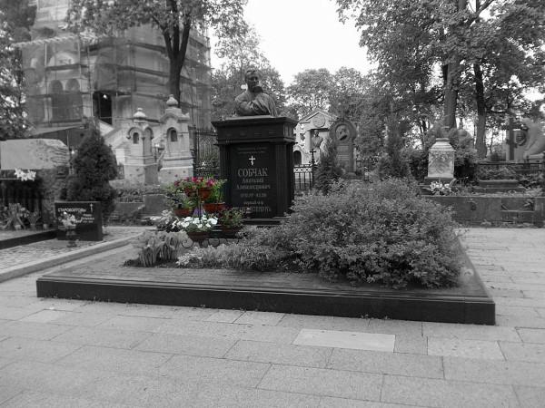 Санкт-Петербург, Александро-Невская лавра, Никольское кладбище. Снимок мая 2013 г.