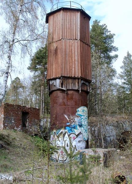 "Водонапорка станции \\""Кексгольм\\"" (Käkisalmi)"