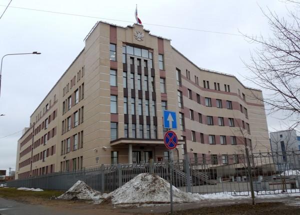 Резиденция торжественно открыта 6 июня 2014 г. Улица Ольги Берггольц, дом 12. Вход для посетителей осуществляется с улицы Бабушкина. Снимок марта 2019 г.