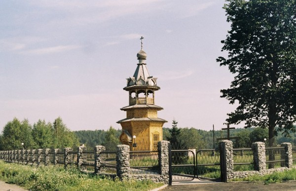 Построена в 2004 г., освящена в 2005 г. Снимок августа 2007 г.