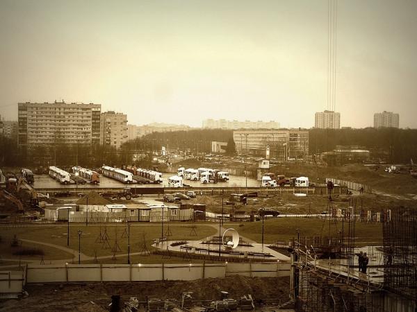 Вид из Новосергиева. Январь 2020 г.