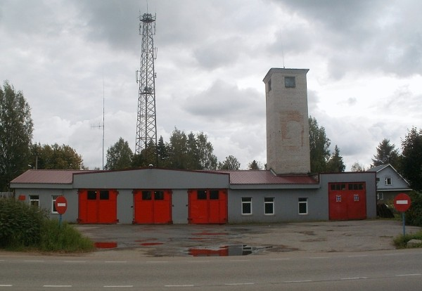 Рощинское пожарное депо