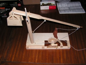 Trebuchet Side View