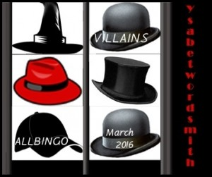 Allbingo Villains Bingo Banner