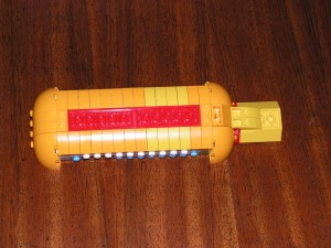 This is the underside of the Yellow Submarine at the end of Session 1.